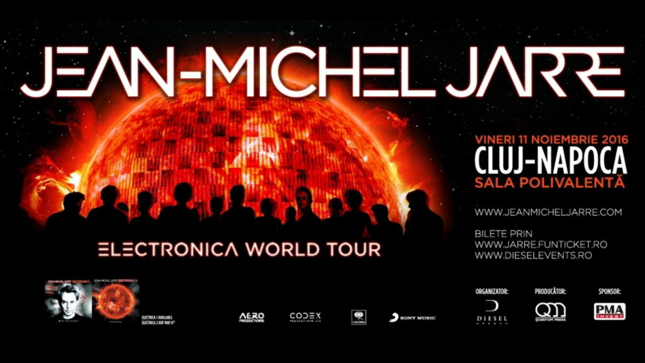 Jean-Michel Jarre ''Electronica World Tour""